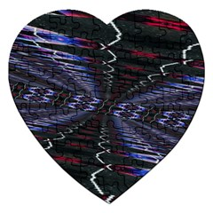 Digital Room Jigsaw Puzzle (heart) by Sparkle