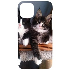 Cats Brothers Iphone 11 Pro Black Uv Print Case