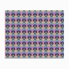 Pink And Blue Small Glasses Cloth (2 Sides) by Sparkle