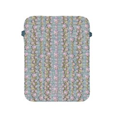 Summer Florals In The Sea Pond Decorative Apple Ipad 2/3/4 Protective Soft Cases