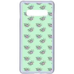 Zodiac Bat Pink Mint Samsung Galaxy S10 Plus Seamless Case(white)