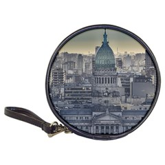 Buenos Aires Argentina Cityscape Aerial View Classic 20-cd Wallets