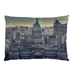 Buenos Aires Argentina Cityscape Aerial View Pillow Case (two Sides)