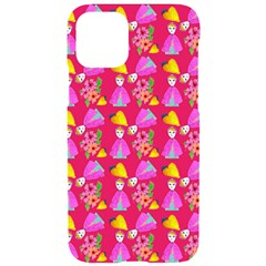 Girl With Hood Cape Heart Lemon Pattern Pink Iphone 11 Pro Black Uv Print Case by snowwhitegirl