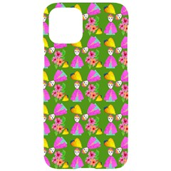 Girl With Hood Cape Heart Lemon Pattern Green Iphone 11 Pro Black Uv Print Case by snowwhitegirl