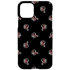 Ugly Monster Fish Motif Print Pattern Iphone 11 Pro Black Uv Print Case