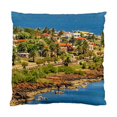 Punta Colorada Aerial Landscape Scene, Uruguay Standard Cushion Case (one Side)