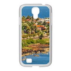 Punta Colorada Aerial Landscape Scene, Uruguay Samsung Galaxy S4 I9500/ I9505 Case (white) by dflcprintsclothing