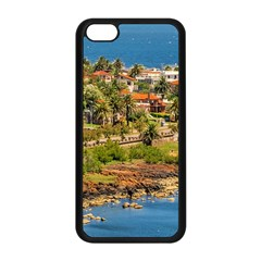 Punta Colorada Aerial Landscape Scene, Uruguay Iphone 5c Seamless Case (black)