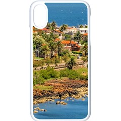 Punta Colorada Aerial Landscape Scene, Uruguay Iphone Xs Seamless Case (white)