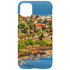 Punta Colorada Aerial Landscape Scene, Uruguay Iphone 11 Black Uv Print Case