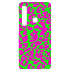Neon Big Cat Samsung A9 Black Uv Print Case by Angelandspot