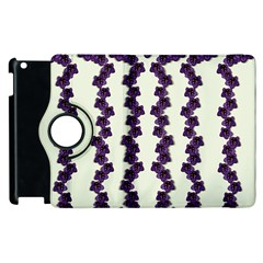 Blue Flowers Of Peace Small Of Love Apple Ipad 3/4 Flip 360 Case by pepitasart
