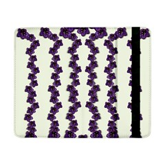 Blue Flowers Of Peace Small Of Love Samsung Galaxy Tab Pro 8 4  Flip Case