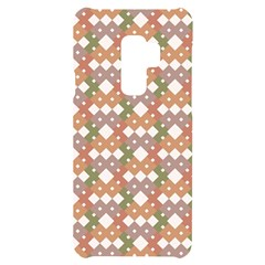 Squares And Diamonds Samsung S9 Plus Black Uv Print Case by tmsartbazaar