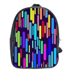 Abstract Line School Bag (large)