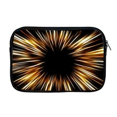 Color Gold Yellow Apple Macbook Pro 17  Zipper Case