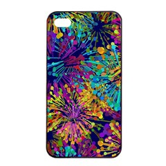 Illustration Graphics Art Iphone 4/4s Seamless Case (black)