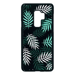 Illustrations Tropical Background Samsung Galaxy S9 Plus Seamless Case(black)