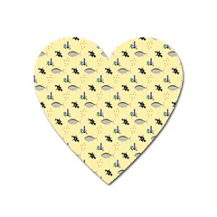 Bluefishes Heart Magnet by Sparkle