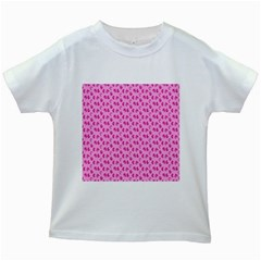 Rose Petals Kids White T-shirts by Sparkle