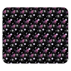 Galaxy Cats Double Sided Flano Blanket (small)