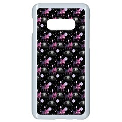 Galaxy Cats Samsung Galaxy S10e Seamless Case (white)
