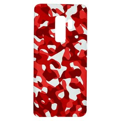 Red And White Camouflage Pattern Samsung Galaxy S9 Plus Tpu Uv Case