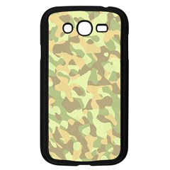 Light Green Brown Yellow Camouflage Pattern Samsung Galaxy Grand Duos I9082 Case (black)
