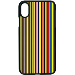 Bright Serape Iphone X Seamless Case (black)