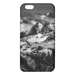 Black And White Andes Mountains Aerial View, Chile Iphone 6 Plus/6s Plus Tpu Case