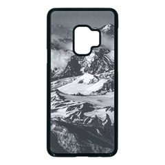 Black And White Andes Mountains Aerial View, Chile Samsung Galaxy S9 Seamless Case(black)