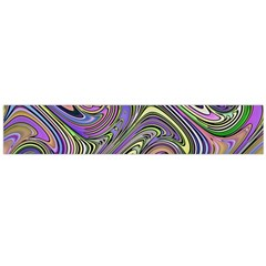 Abstract Art Purple Swirls Pattern Large Flano Scarf  by SpinnyChairDesigns