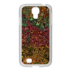 Stylish Fall Colors Camouflage Samsung Galaxy S4 I9500/ I9505 Case (white)