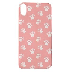 Animal Cat Dog Prints Pattern Pink White Apple Iphone Xr Tpu Uv Case