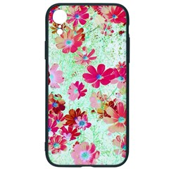 Cosmos Flowers Red Iphone Xr Soft Bumper Uv Case