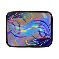 Infinity Painting Blue Netbook Case (small)