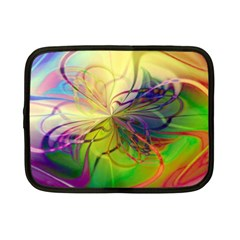 Rainbow Painting Patterns 1 Netbook Case (small)
