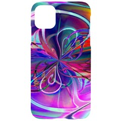 Rainbow Painting Pattern 2 Iphone 11 Black Uv Print Case by Cveti