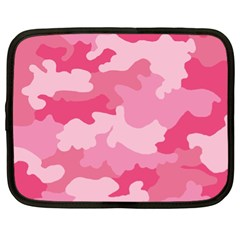 Camo Pink Netbook Case (xl) by MooMoosMumma