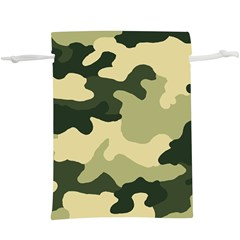 Camo Green  Lightweight Drawstring Pouch (xl)