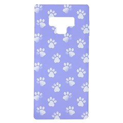 Animal Cat Dog Paw Prints Pattern Samsung Galaxy Note 9 Tpu Uv Case by SpinnyChairDesigns