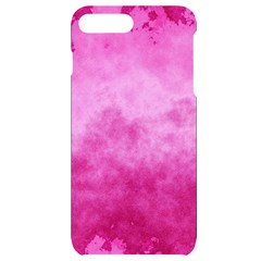Abstract Pink Grunge Texture Iphone 7/8 Plus Black Uv Print Case