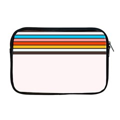 Vintage Stripes Apple Macbook Pro 17  Zipper Case by tmsartbazaar
