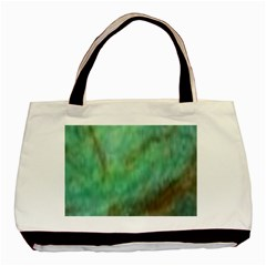 True Turquoise Basic Tote Bag