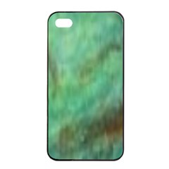 True Turquoise Iphone 4/4s Seamless Case (black)