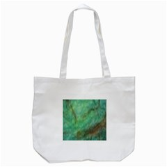 True Turquoise Tote Bag (white)