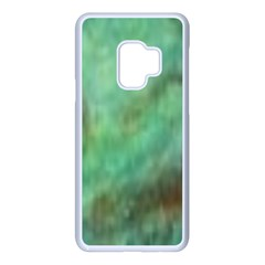 True Turquoise Samsung Galaxy S9 Seamless Case(white)