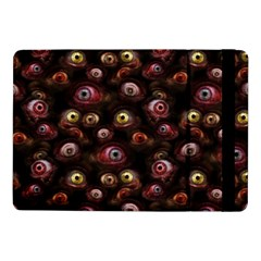Zombie Eyes Pattern Samsung Galaxy Tab Pro 10 1  Flip Case by SpinnyChairDesigns
