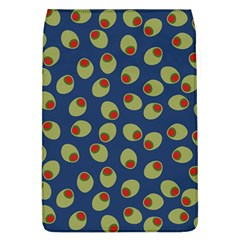 Green Olives With Pimentos Removable Flap Cover (l) by SpinnyChairDesigns
